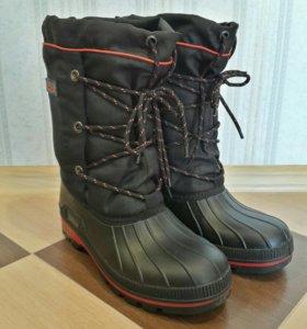 Продам ботинки зимние мужские для рыбалки