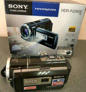 Видеокамера с проектором SONY PJ-260