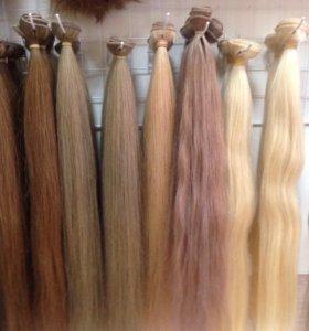 Славянские волосы на трессах