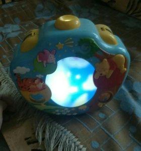 Музыкальный ночник-проектор Сладкие сны Винни голу