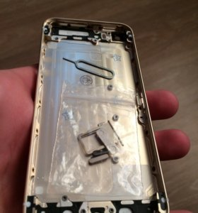 Корпус на iPhone 5S Gold