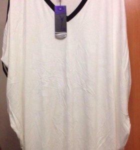 Блуза летняя 56-58