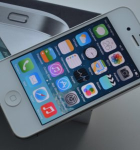 iPhone 4, 8GB, White
