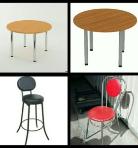 Столы стулья компьютерные кресла.