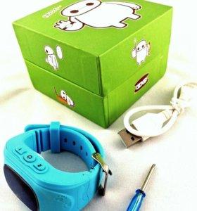 Детские смарт часы Q50 gps трекер поиск ребенка