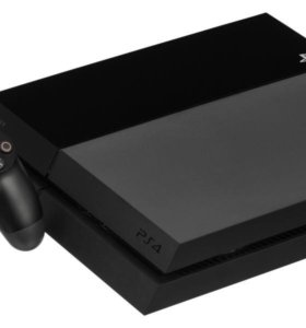 PlayStation 4 + 2 геймпада и игры