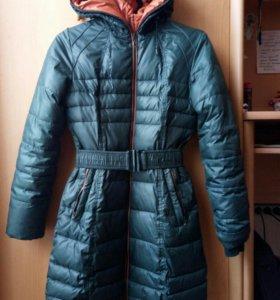 Демисезонное пальто на р.146-152