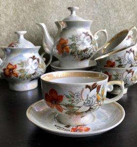 Чайный сервиз на 6 персон Довбышевский ФЗ