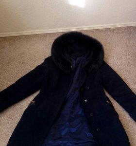 Зимнее женское пальто 48-50р.