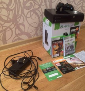 Xbox 360 500 гб (торг)