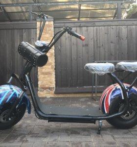 Электро скутер woqu citycoco