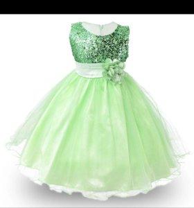5-8лет новое платье