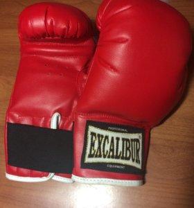 Боксерские перчатки Excalibur(+бинты)