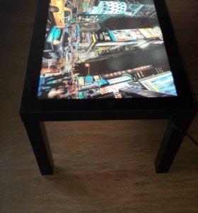 Стол-картина с подсветкой