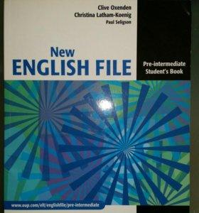 Учебник по английскому языку, тетрадь и диск