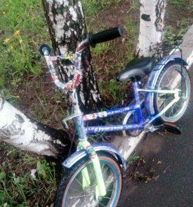 Велосипед детский,колеса 16r