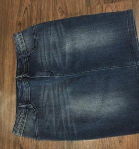 Юбка новая джинсовая TAYA