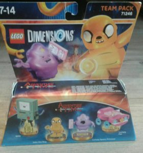 Lego team pack dimeshions adventure time