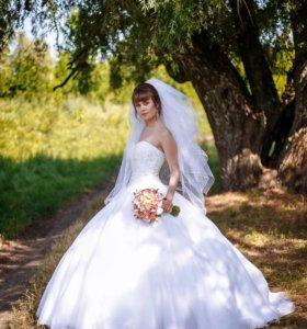 """Классическое свадебное платье """"To be bride"""""""