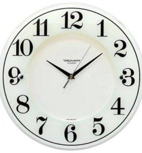 Стекляные часы настенные новые в упаковке