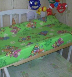 Доска пеленальная  для новорожденных