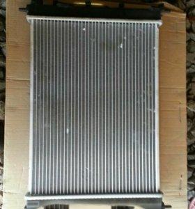 Радиатор кондиционера КиаРио, Солярис до 2014г.