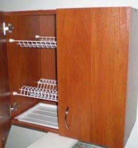 Кухонный шкаф с посудосушкой