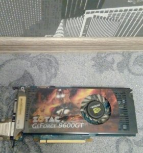 Видеокарта GeForce-9600GT-DDR3-512M