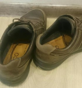 Ботинки из натуральной кожи Ecco gore-tex