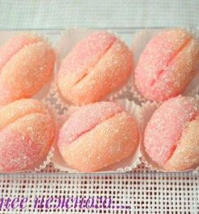 Сахарный скраб '' Персик''