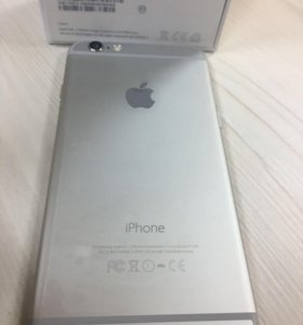 iPhone 6 16 серебристый