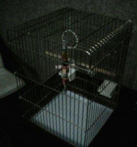 Клетка для больших попугаев