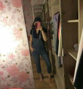 Комбинезон джинсовый 44-46