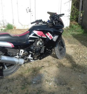 Мотоцикл со статусом мопеда