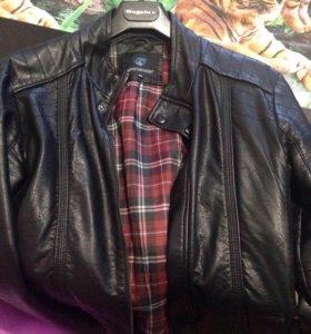 Куртка мужская. ЭКО кожа