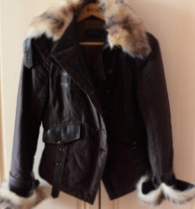 Куртка с натуральным мехом