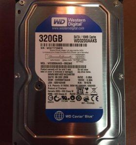 Жесткий диск SATA 320 Gb