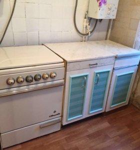 Кухня плита мойка