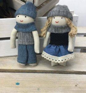 куклы, брелки ручной работы