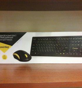 Набор клавиатура + мышь smartbuy 2335