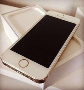 iPhone 5s 16 gb Gold Touch ID LTE. В Идеале!