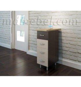 Разделочный стол 300 с 4 ящиками