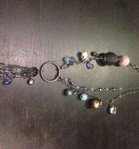 Бусы, ожерелья, кулоны