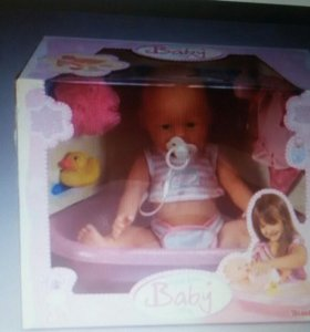 Кукла бэби бёрн с ваной