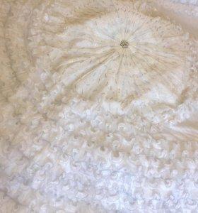 Свадебное покрывало-одеяло с наволочками