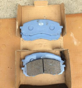 Керамические тормозные колодки Subaru