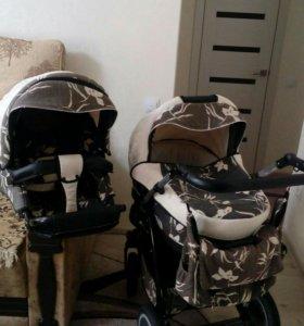 Детская коляска двух модульная kajetx
