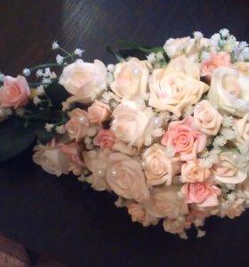 Продам свадебный букет ручной работы