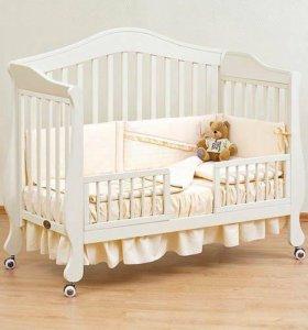 Giovanni кроватка детская