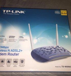 Модем TP-LINK. ADSL2+